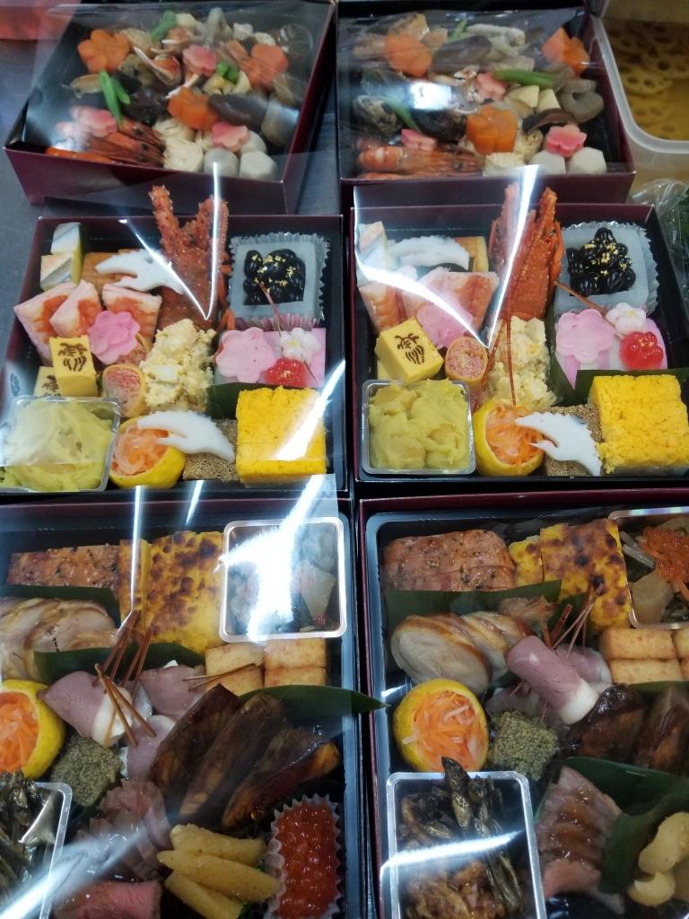 2019合亀お節料理